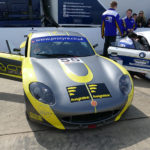 Luke Pinder Overcomes Car Damage to Put On Brave Display in Races 3, 4 and 5 At Rockingham Motor Speedway