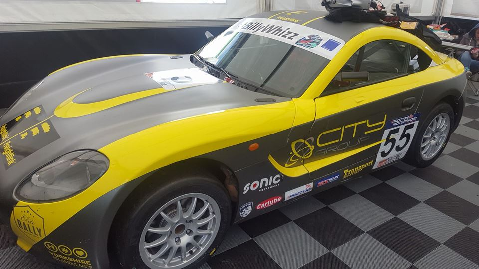 Pinder's first Ginetta Win, penalised.