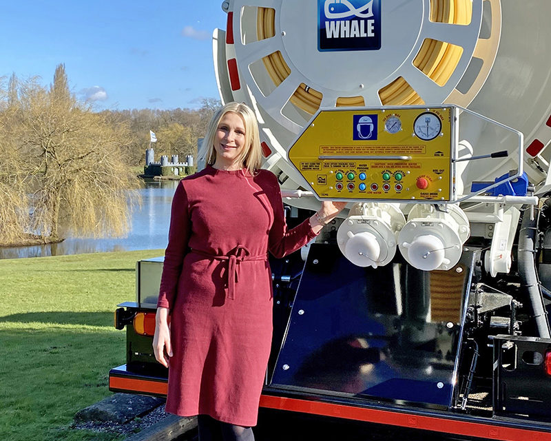 Newly-Appointed Whale Tankers Sales Manager Surfaces In The South