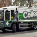 LOOK OUT FOR THE NEW GREEN WASTE COLLECTION MACHINE! ODS trials new electric refuse collection vehicle in Oxford