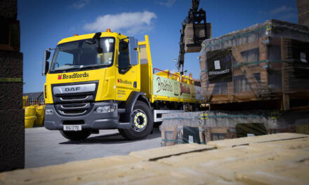 Bradfords Building Supplies Ltd celebrates 250th anniversary with special DAF truck from Ryder