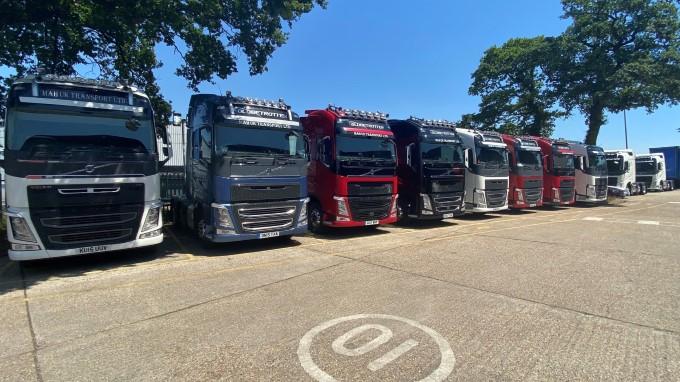 MAH UK TRANSPORT RETURNS TO VOLVO USED TRUCKS TO SUPPORT INCREASED DEMAND