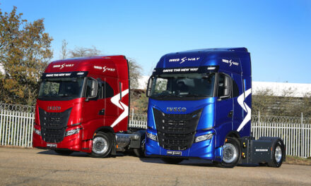Right-hand drive IVECO S-WAY backed by 2-year standard connected R&M package