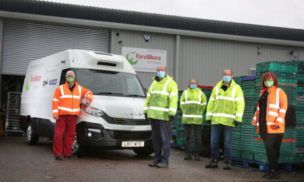 IVECO UK donates Daily van to food redistribution charity, FareShare, through CNH Industrial Solidarity Fund