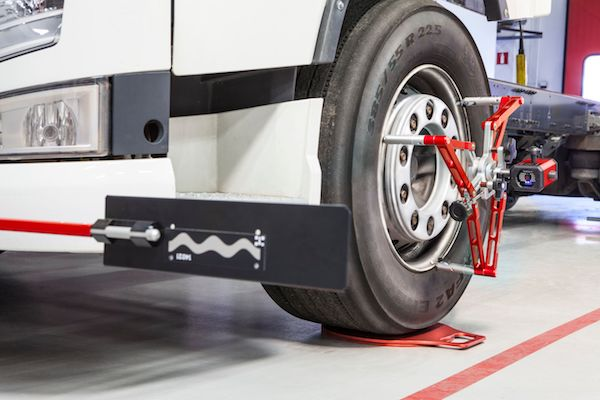Tyre wear specialist tackles mis-aligned HGVs with sustainable Josam solution