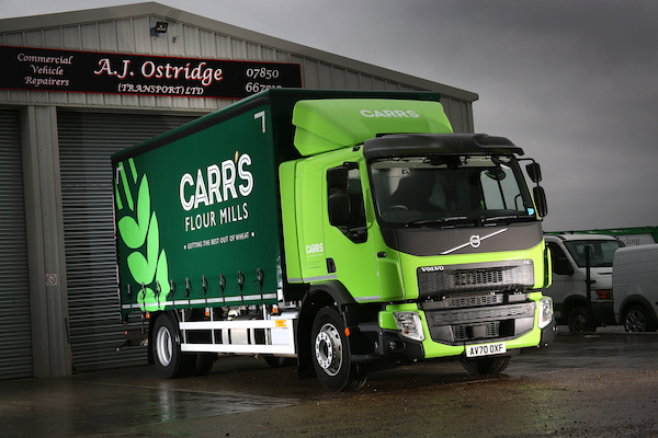 PROVEN RELIABILITY SECURES REPEAT ORDER FOR A.J. OSTRIDGE TRANSPORT