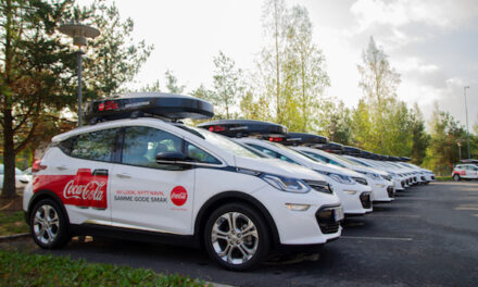 Coca-Cola European Partners joins The Climate Group's EV100 initiative, committing to transition its company cars and vans to electric vehicles by 2030