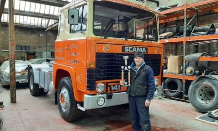 Mulgrew Haulage heritage vehicles to ride down memory lane on Michelin tyres