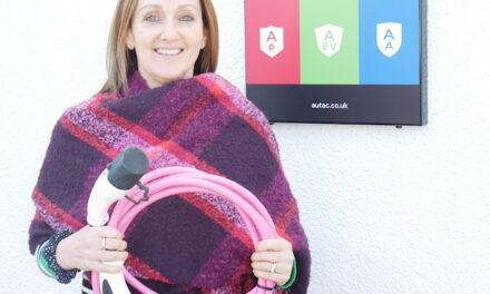 Macclesfield company launches new pink EV cable in support of breast cancer prevention