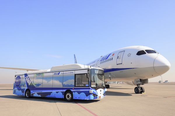 Autonomous airport shuttle bus!BYD helps ANA to build a smart airport