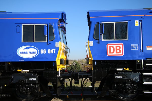 Maritime and DB Cargo UK alliance scoops rail business award