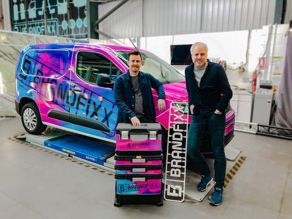 Pedal to the metal! Revolutionary new vehicle decals business launches