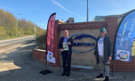 MARITIME JOINS LITTER-FREE CAMPAIGN TO RID UK ROADS OF RUBBISH