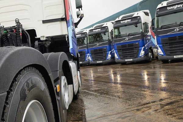 MICHELIN X MULTI ENERGY TYRES FUEL SUSTAINABILITY DRIVE AT BOUGHEY DISTRIBUTION