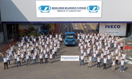IVECO celebrates the 600,000th Eurocargo built at its iconic Brescia plant