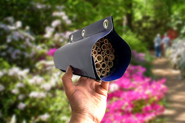 Structure-flex Donate Lorry Curtain Material to Help Make Homes for UK's Threatened Bees